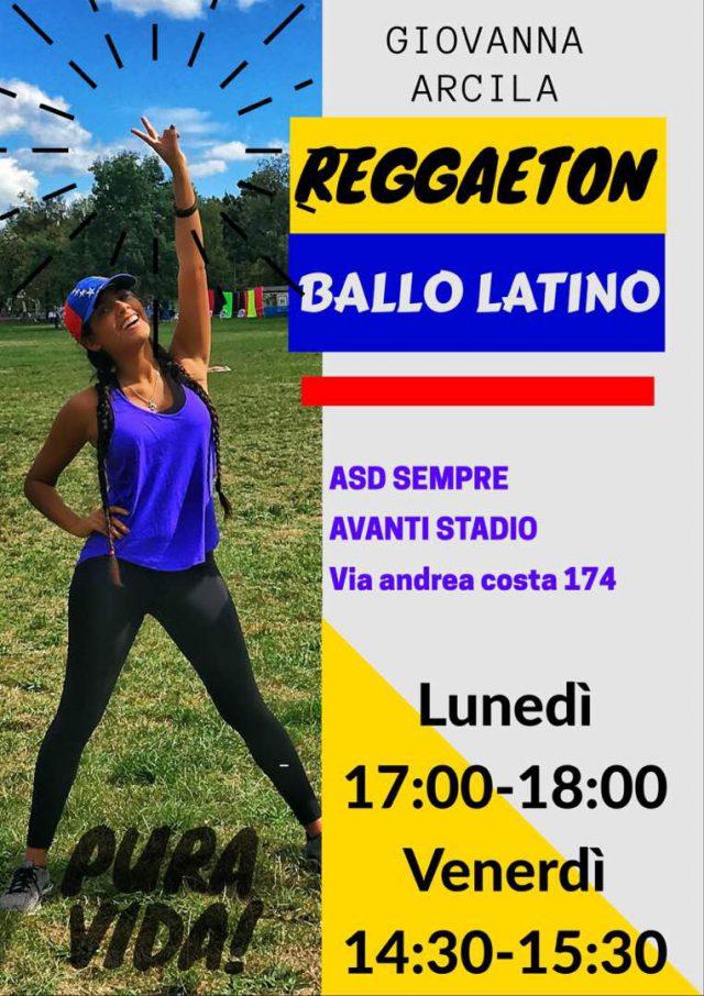 REGGAETONE-BALLO LATINO