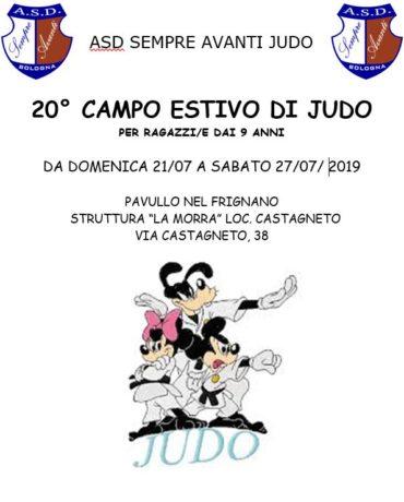 Stage judo Sempre Avanti 2019