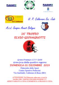 16° Trofeo Elvio Giovagnotti Judo Sempre Avanti