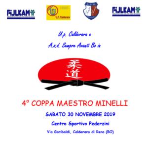 4° coppa maestro minelli Judo Sempre Avanti Bologna