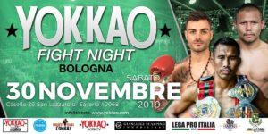 Yokkao Fight Night 30 Novembre 2019 Sempre Avanti